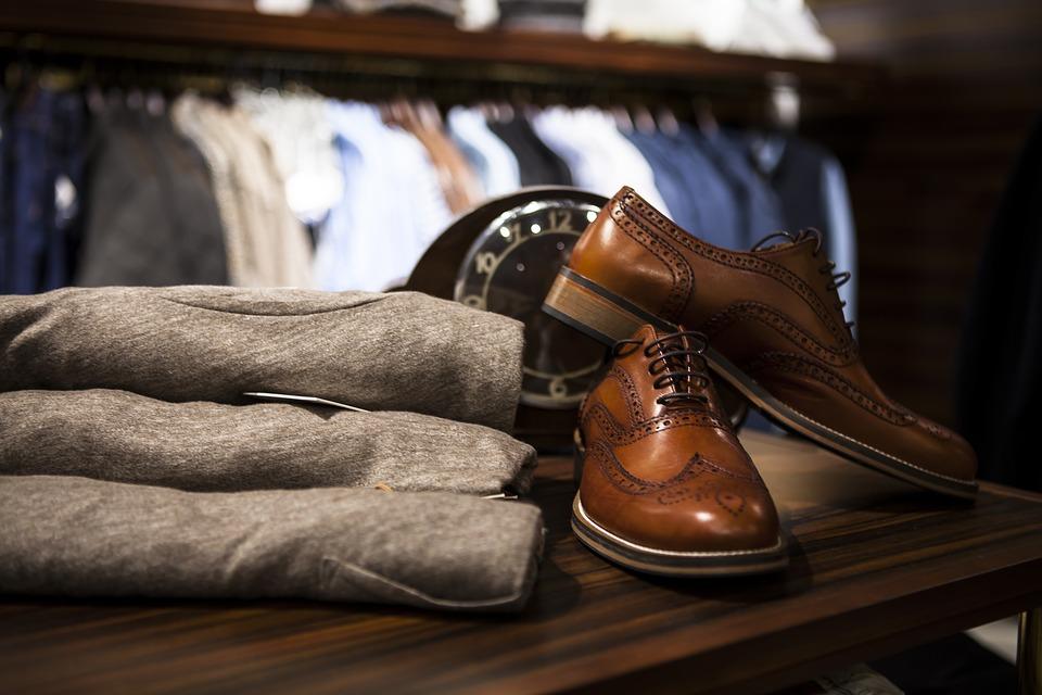 brązowe eleganckie buty męskie