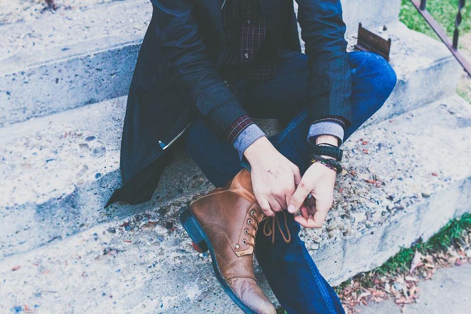 klasyczny styl obuwia męskiego
